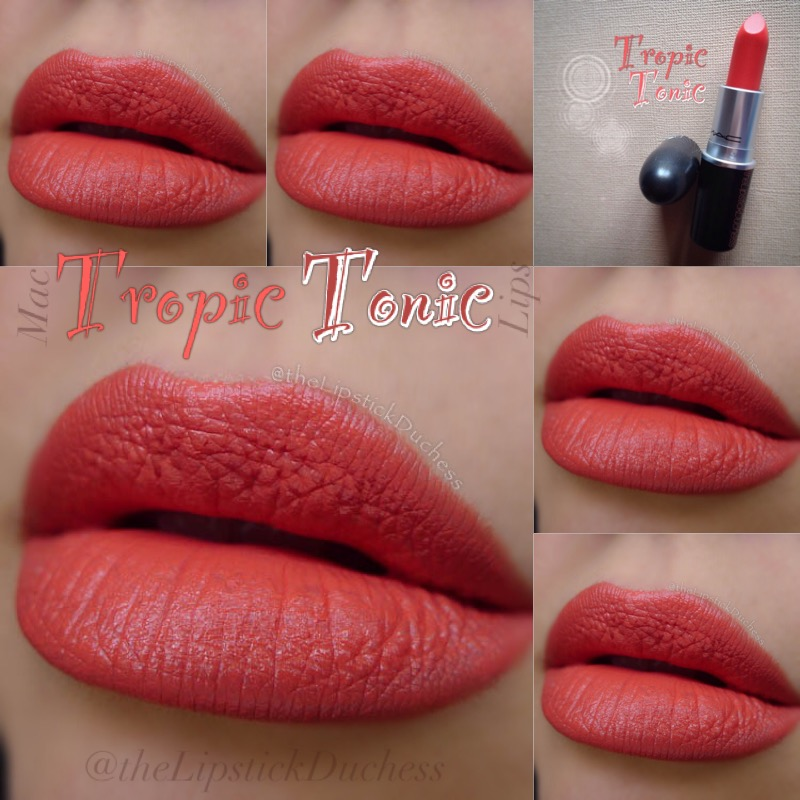 spesso The Lipstick Duchess: Mac The Mattes - 9 new lippies review RW02