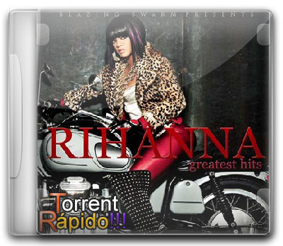 Capa 3D do CD Rihanna - The Greatest Hits (2013) BY Torrent Rápido