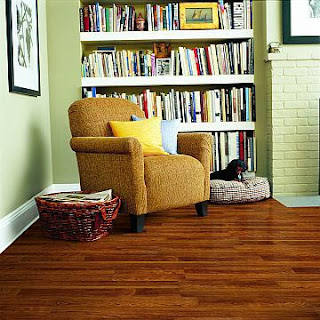 Contoh lantai kayu ruangan bahan Kayu Engineereed laminated
