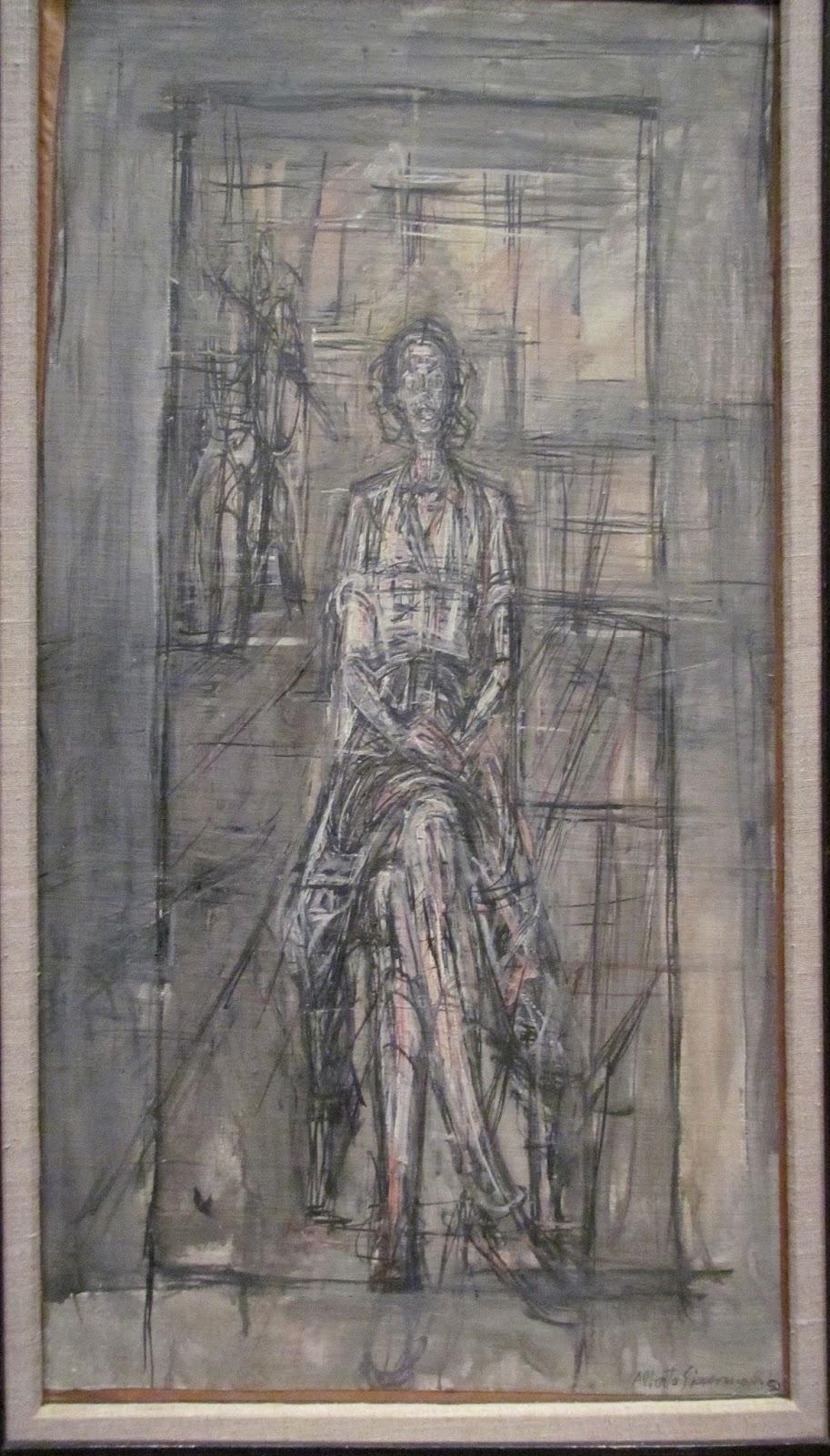 ArtHive: Alberto Giacometti - Painting and Mark Making
