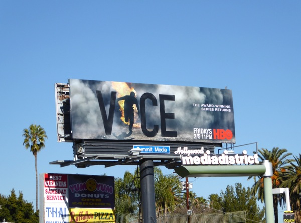 Vice season 4 Burning Man billboard