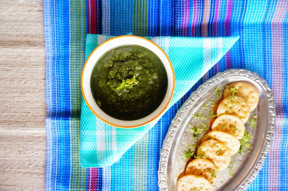 how to cook pudina chutney