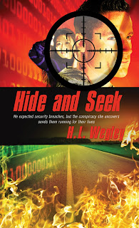 cover of Hide and Seek, man and woman are shown on cover