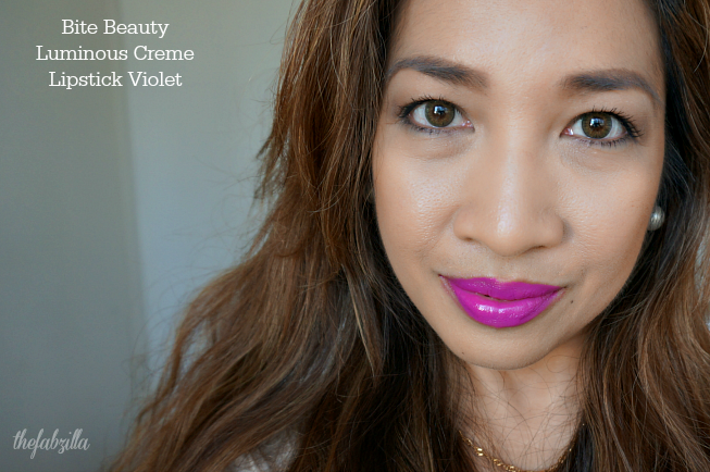 Top 5 Violet Lipsticks, Purple Lipsticks, Gucci Lip Luxurious Tiger Lily, Dolce and Gabbana Lipstick Shine Violet, Giorgio Armani Rouge d'Armani Sheers Plum, Bite Beauty Luminous Lip Creme Violet, Bite Beauty Matte Grape, Bite Beauty High Intensity Violet, Review, Swatch, Arianna Grande Makeup