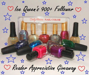 Ice Queen's Nail Parlour Giveaway
