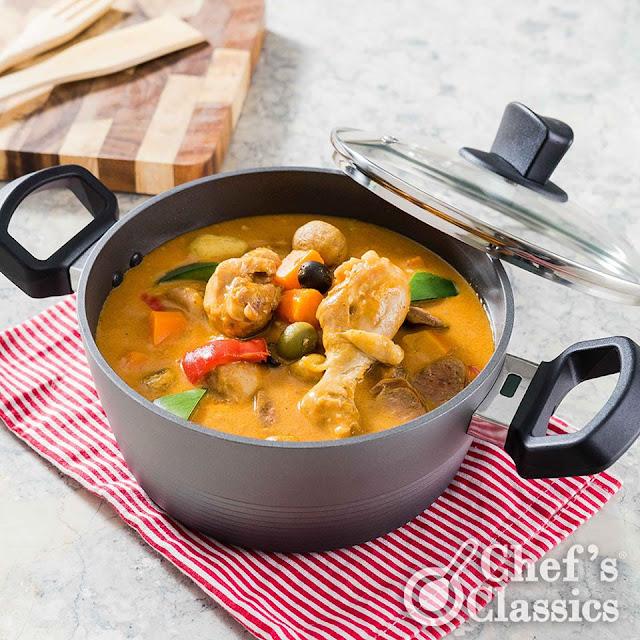 Chicken Chorizo Caldereta Recipe