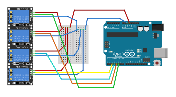 At mo production arduino uno how to use relay v