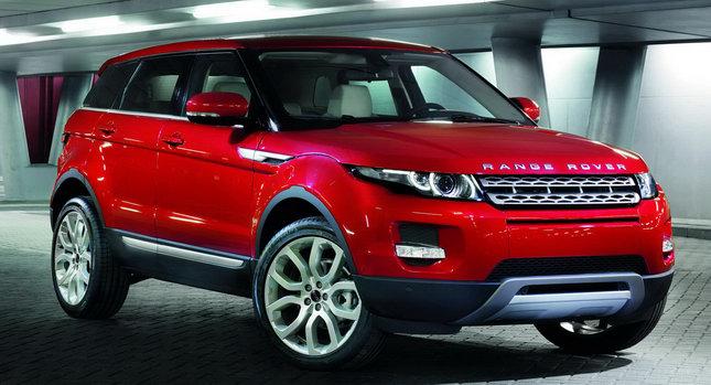 land rover range rover evoke 5 door car news. Black Bedroom Furniture Sets. Home Design Ideas