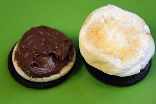 S'Moreos Recipe Using Marshmallows, Nutella & Oreo Cookies