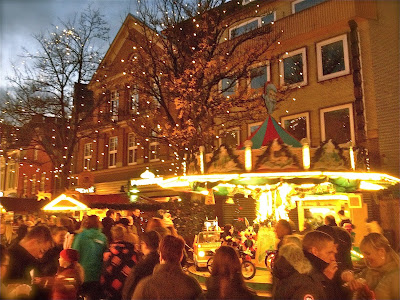 Picture from Weihnachtsmarkt in Leer, Ostfriesland, Germany.