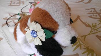 Flor em couro