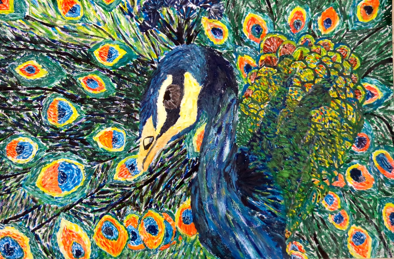 the creative license painting like monet and van gogh