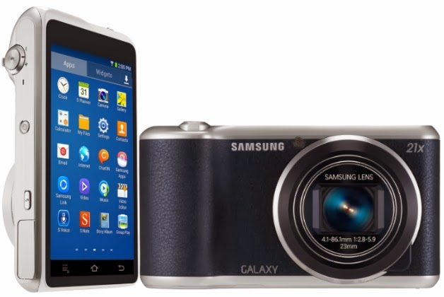 Samsung Galaxy Camera 2, Android Jelly Bean, Selfie, super zoom camera, Android camera, Wi-Fi, GPS, NFC, TouchWiz, slow motion video