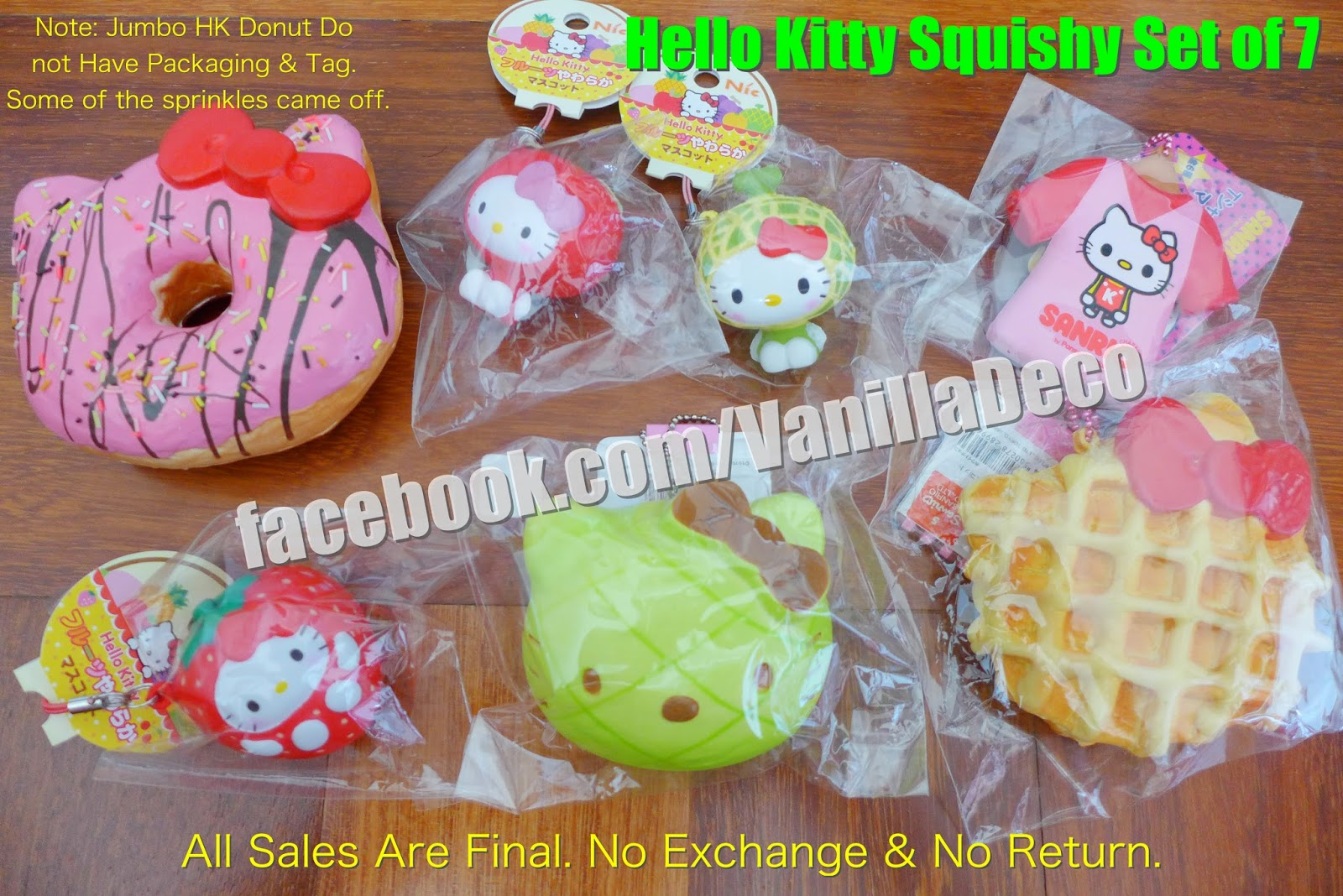 Rilakkuma Tag Squishy Supplier : Sue s Cutie Closet : Squishy Update: Hello Kitty Squishy Set, Frogstyle Squishy Set, Moni Moni ...