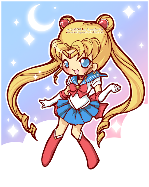 Sailor Moon por MoogleGurl