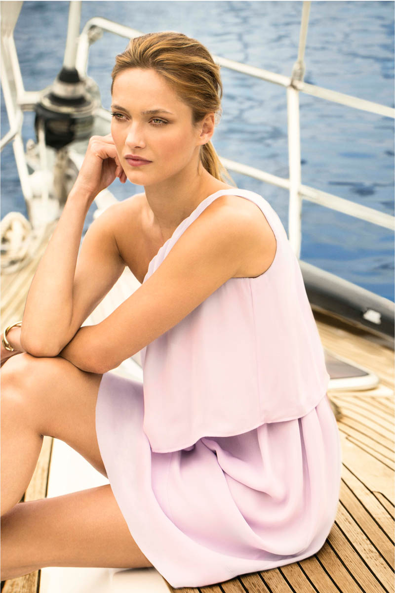 KARMEN PEDARU FRONTS MASSIMO DUTTI JUNE 2013 LOOKBOOK