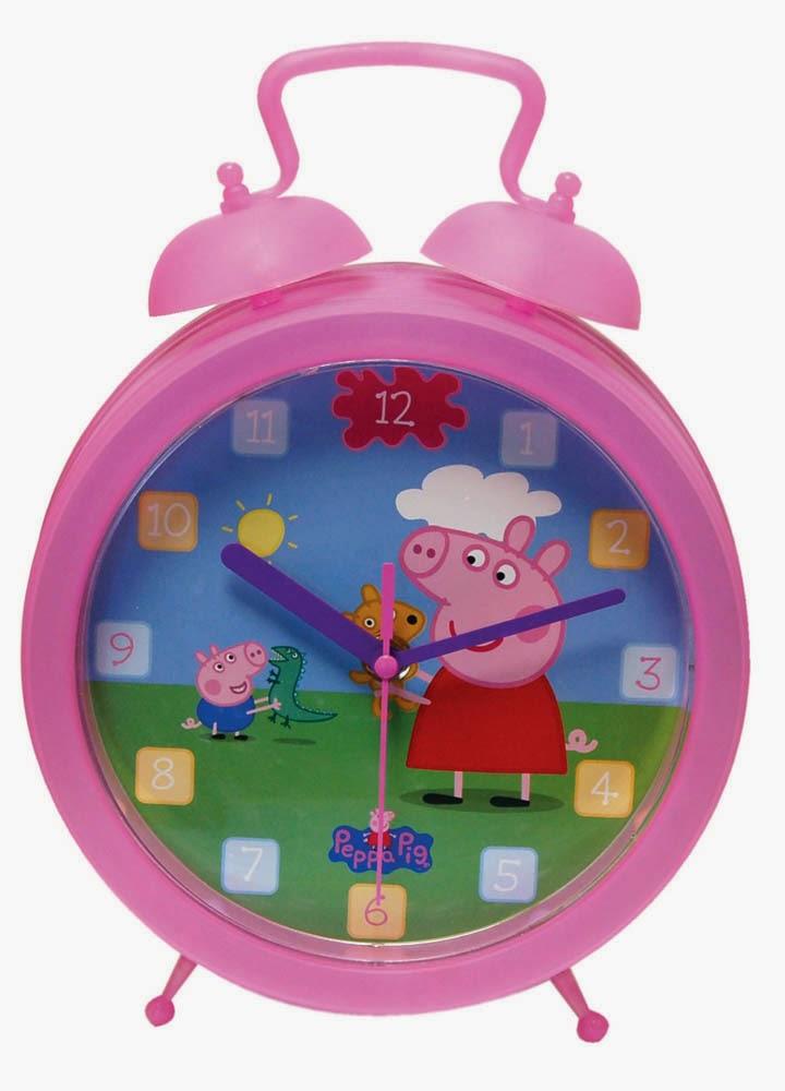 Despertador Peppa Pig