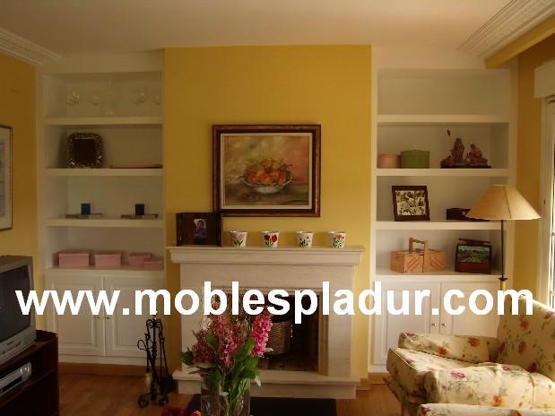 Pladur barcelona enero 2013 - Muebles de salon con chimenea integrada ...