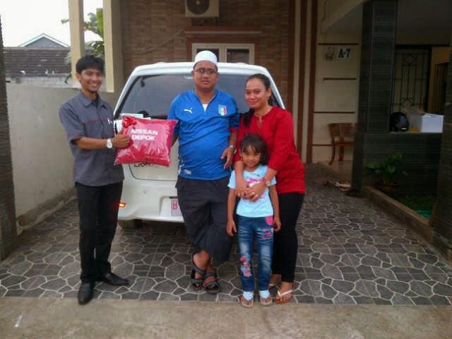 Terimakasih atas kepercayaan Bapak Arrachman yang telah membeli Grand Livina HWS melalui media www.touchnissan.com.  Semoga Berkah ya Pak...