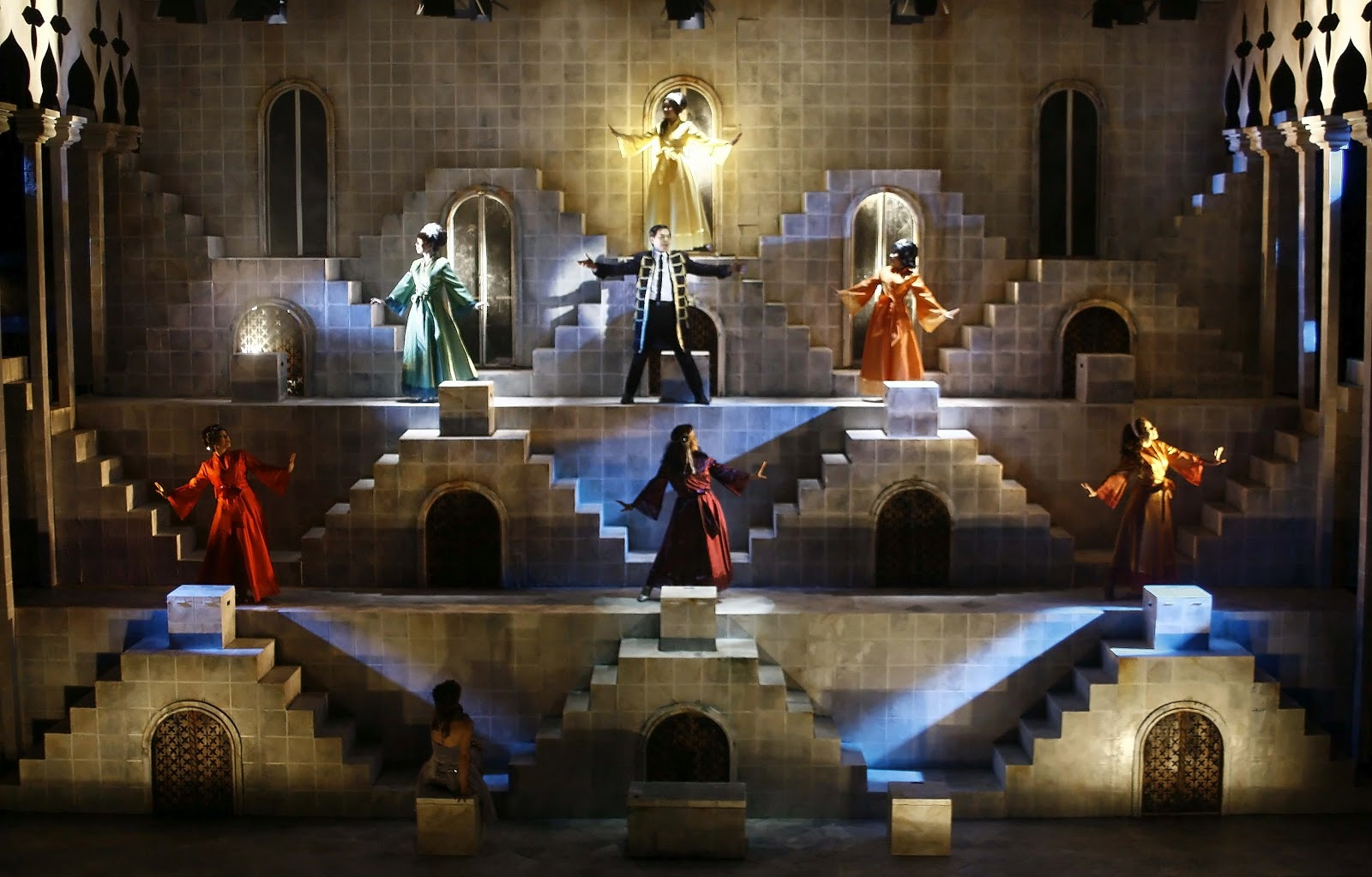 Review Roundup: Atlantis Productions' NINE, Now thru Oct 7
