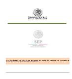 Acuerdo 706 Reglas de operación PCEB