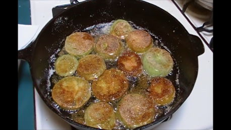 how to cook fried green tomatoes in an air fryer
