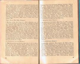 """၁၉၆၁ ခုႏွစ္၊ လန္ဒန္ၿမိဳ့မွ ထုတ္ေ၀ေသာ """"Who's Who In Burma"""" (စာ-၃၇)"""