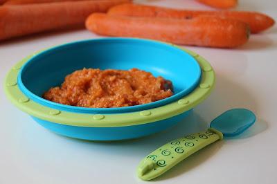 Zupa dla niemowląt - marchewkowa z ryżem