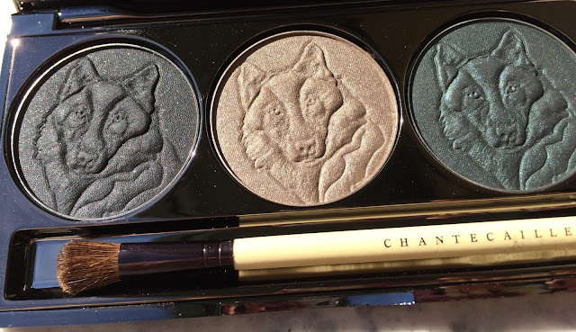 Chantecaille Protect the Wolves Eye Shade Trio swatches + review