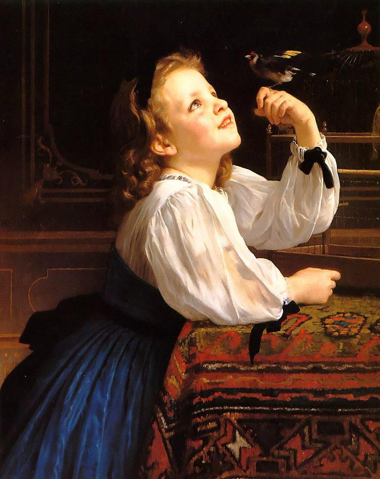 Dear Bird. 1867. Óleo sobre tela - 69 x 87,5 cm