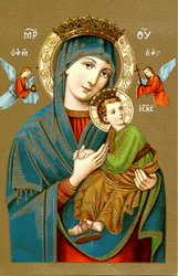 Our Lady of Perpetual Help, Pray for Us!