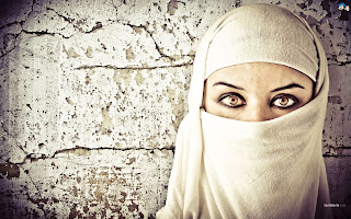 Arab Woman In Hijab