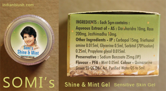 Somi's Shine & Mint Gel for Sensitive Skin Review