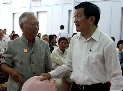 Chủ tịch nước: 'Kết quả đàm phán Việt - Trung là tích cực'