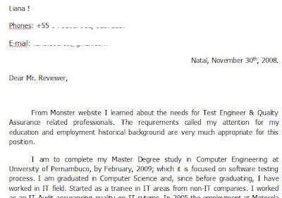 Eu Cover Letter Templates For Ectd