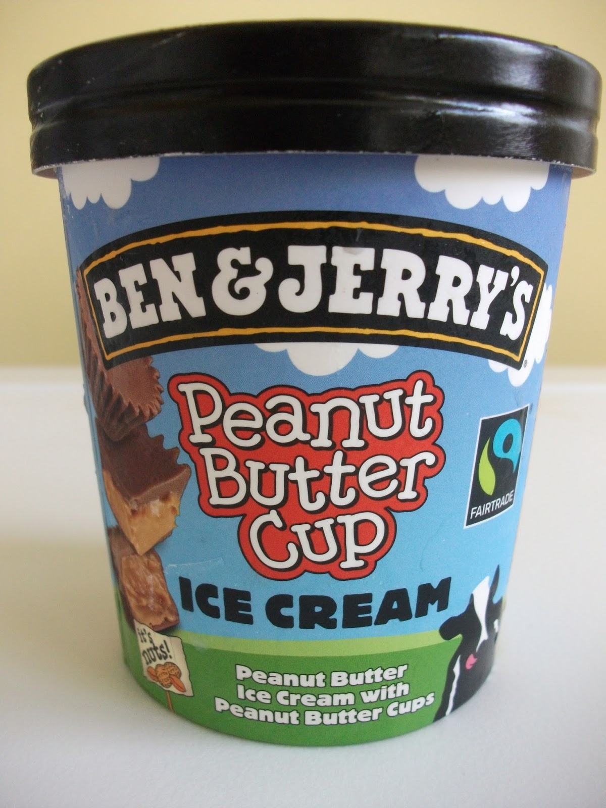 ... : Ben and Jerry's Peanut Butter Cup Ice Cream now in the UK! - Review