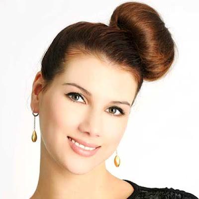 peinados faciles : moño bagel