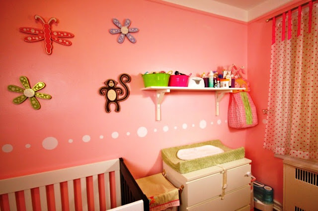 paint color ideas for baby girl's room