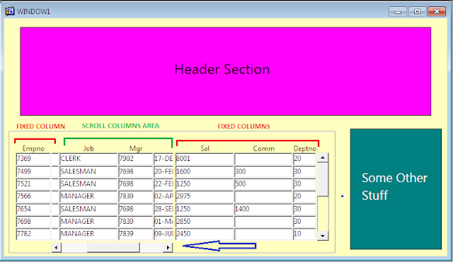 Oracle Forms Stacked canvas example