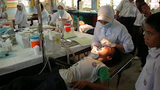 Terima Kasih Jururawat Masyarakat Dari Unit Pergigian Klinik Bukit Payong