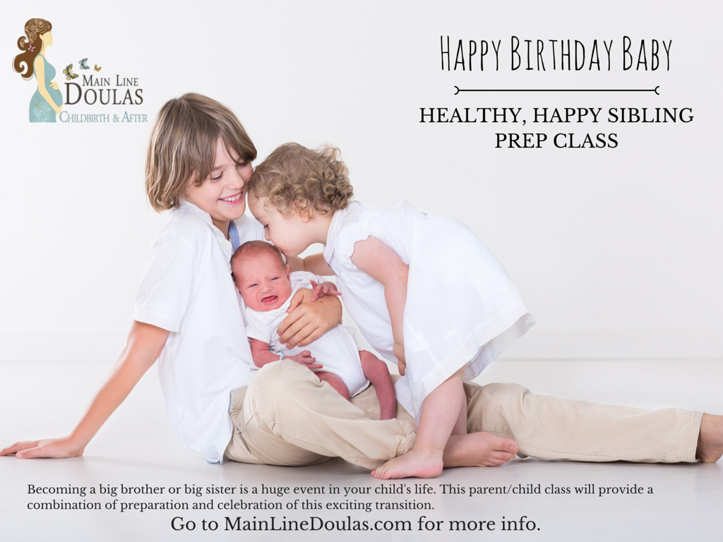 Happy Birthday Baby Havertown PA Sibling Prep Class
