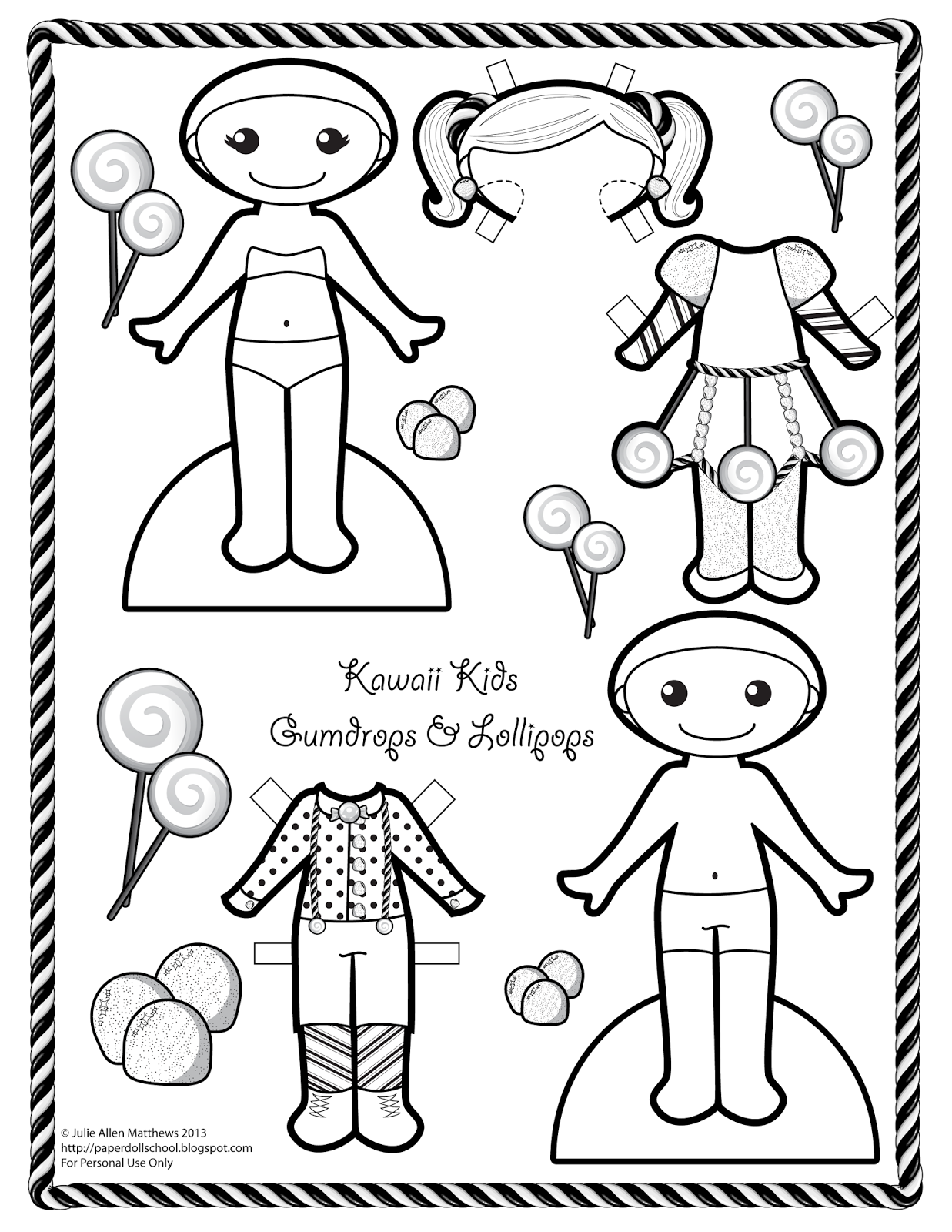 paper doll 2013