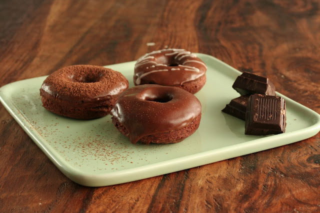 Monday Morning Donut: Chocolate Espresso Cake Donuts
