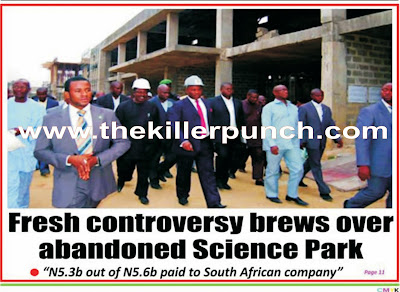 Any hope for Ibom Science Park?