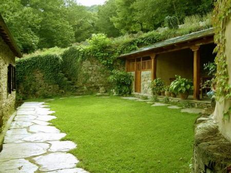 Papa pizzas caseras fotos de jardines fotos de plantas - Casas con jardines bonitos ...