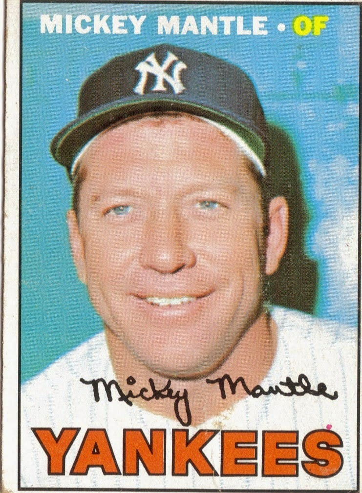 Mickey Mantle New York Yankees #7