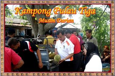 Pasar Durian Kampong Pulau Tiga.