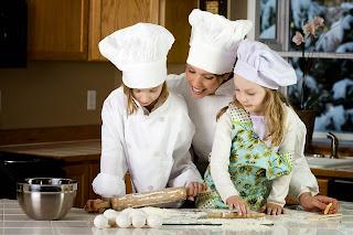 Implicación de los niños en la cocina