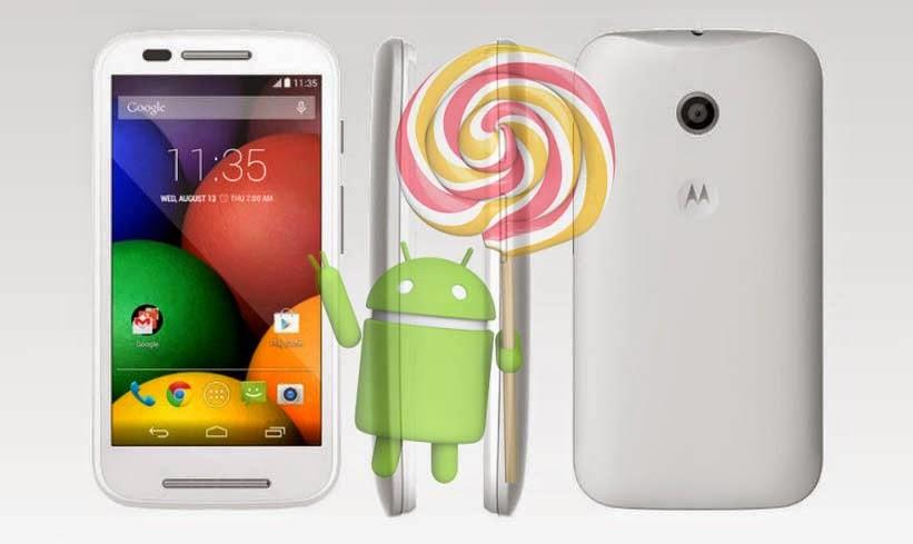 Moto e android lollipop update india
