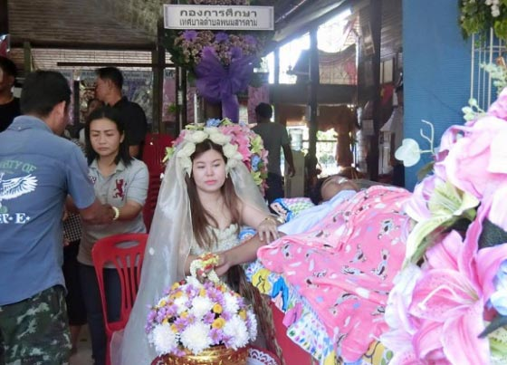 True Love Or Craziness? Woman Goes Ahead To Marry Corpse Of Groom After He Died Shortly Before Wedding (Photos)